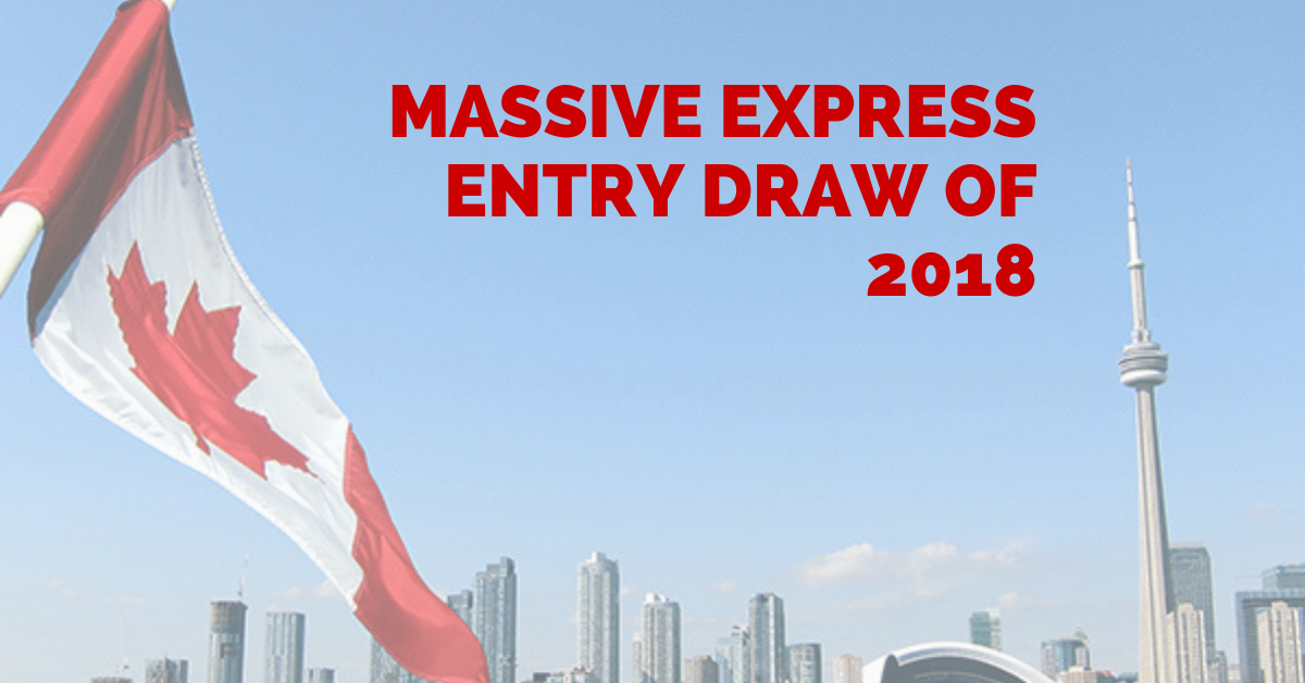 Massive Express Entry Draw Of 2018 Issues 3,900 Invitations